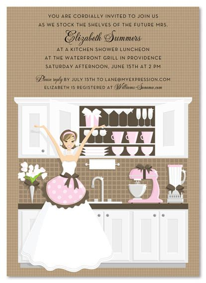 kitchen wedding shower ideas kitchen bridal shower theme invitations party invitations
