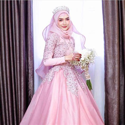 Harga Gaun gaun pengantin muslim rabbani terbaru model gaun pengantin