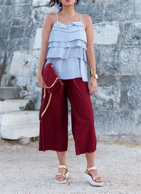 Du Pleated Cullot pleated culotte fashion berlin germany
