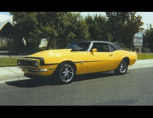 1968 chevrolet camaro ss sport coupe 'transformer' 20011