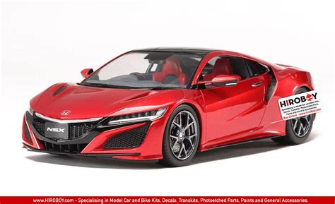 honda model car kits 1 24 honda nsx acura 2016 model kit 24344 tam24344