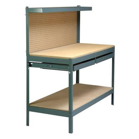 gorilla shelves lowes gorilla rack gr2102b 5 workbench with 2 drawers black