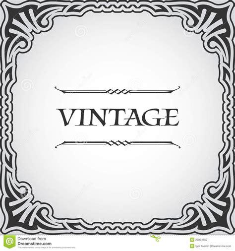 imagenes retro de fotos marco del vintage del vector foto de archivo imagen