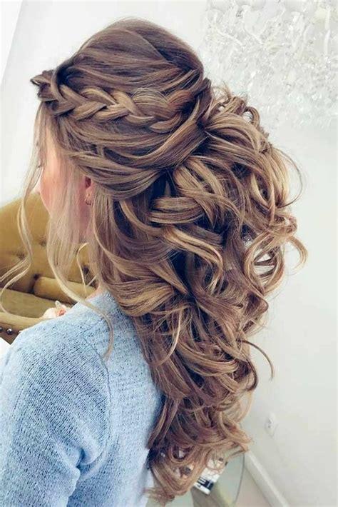 coiffure cheveux mi femme attache coloration des 1001 id 233 es pour la coiffure boucle mariage trouvez les plus belles options cheveux mi