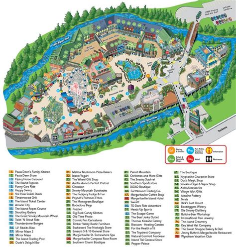 gatlinburg map the island in pigeon forge map favorite places spaces tennessee we and cas