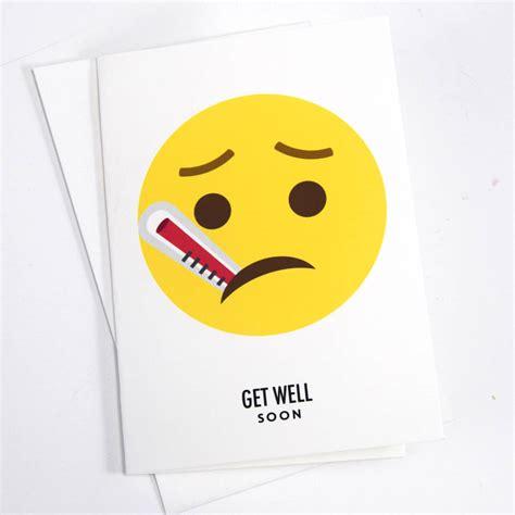 well cards emoji get well soon card by of lemons