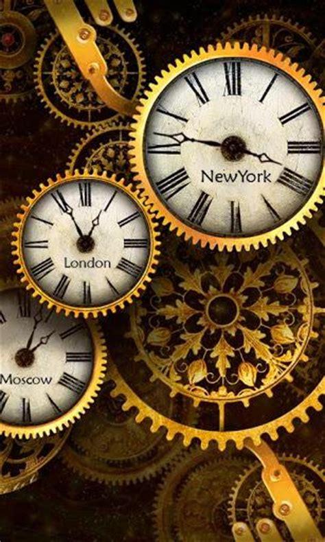 gold clock  wallpaper