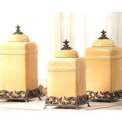 Fleur De Lis Canisters For The Kitchen by Fleur De Lis Canisters Findgift Com