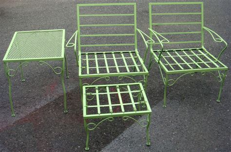 Decorate Vintage Metal Patio Chairs All Home Decorations Vintage Metal Patio Chairs