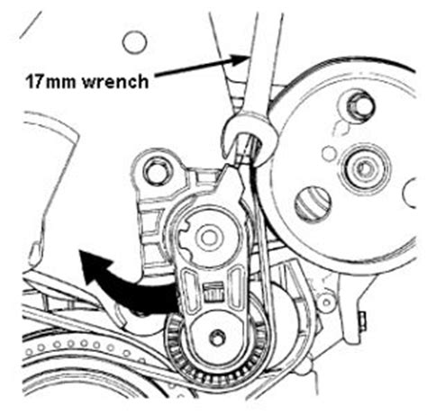 how to release the tension pully on a 2002 lotus esprit 2000 dodge neon replacement of power steering serpentine be