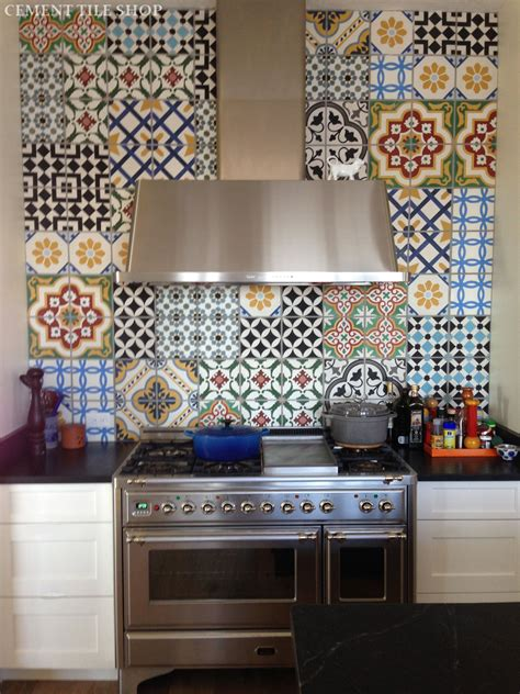 Brick Tile Kitchen Backsplash by Kitchen Backsplash Cement Tile Shop Blog