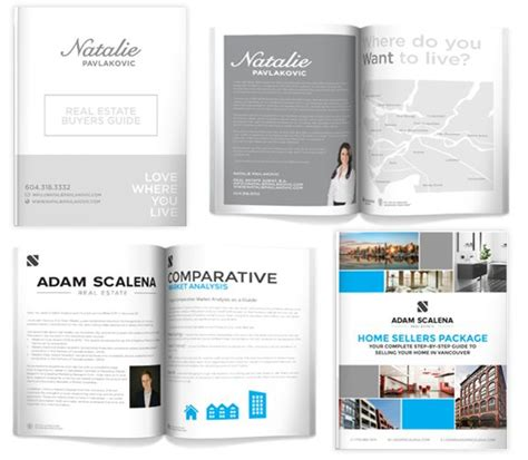 31 Best Real Estate Brochures And Packages By Your Design Here Images On Pinterest Brochures Home Buyer Packet Template