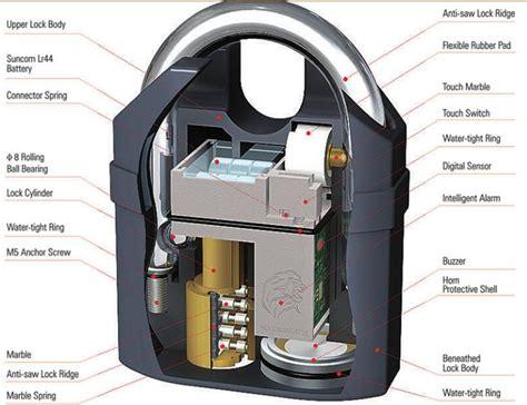 Gembok Alarm Motor Gembok Anti Maling Gerbang Rumah Gembok Sepeda gembok alarm motor suara anti maling lock siren black jakartanotebook