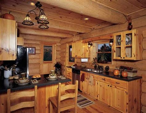 log home kitchen ideas 10 rustic kitchen designs with unfinished pine kitchen cabinets rilane