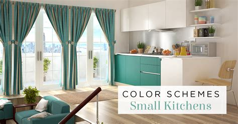 best colors for guide to the best colors for small kitchens