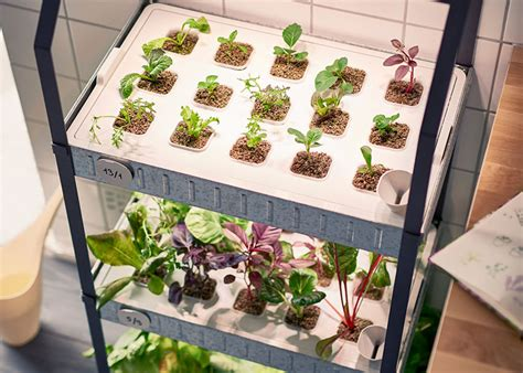 ikea indoor garden hydroponic gardening made simple by ikea