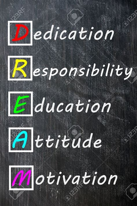 education motivation stock photo vision board education quotes education