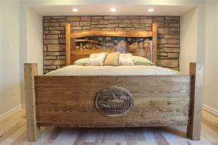 Custom Wood Bed Frames And Headboards Headboards Custom Headboards Pine Headboard Rustic