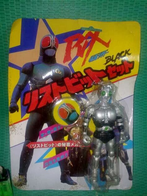 Figure Robot Satria Baja Hitam Buster jadulcollectibles mainan jadul kamen rider satria baja hitam
