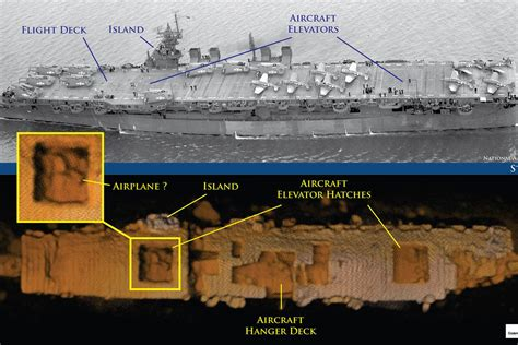 Floor Hatch by Wwii Ship Uss Independence Found Amazingly Intact On
