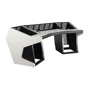 sessiondesk trapez studio workstation desk white dv247