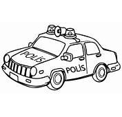 Polis Arabası Boyama Sayfası  Okul&246ncesiTR L Preschool