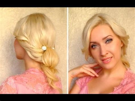 short hair that hides big ears cute everyday updo tutorial hairstyle for long hair that