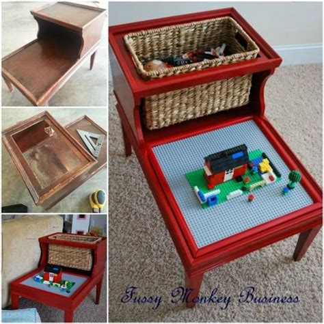 lego play table diy 8 awesome diy lego tables for beesdiy