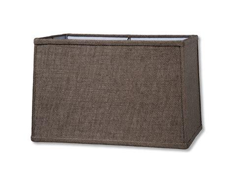 small rectangle l shade rectangular l shades off white hardback shade 8 16x8
