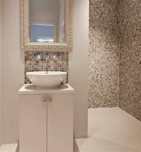 40 beige mosaic bathroom tiles ideas and pictures