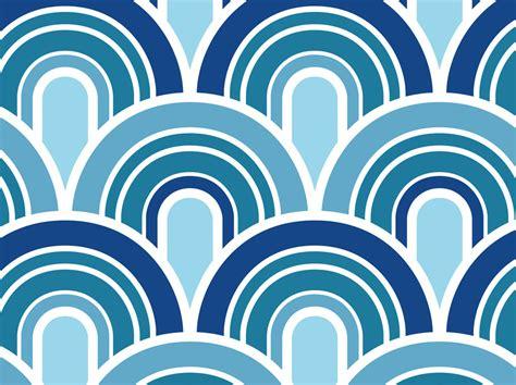 wave pattern vector art blue waves pattern vector art graphics freevector com
