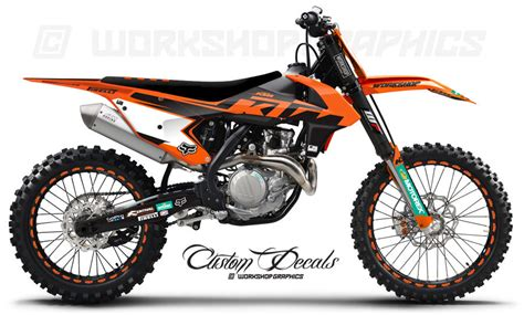 Ktm Exc Graphics 2017 Ktm Era Orange Graphics Kit Workshop Graphics
