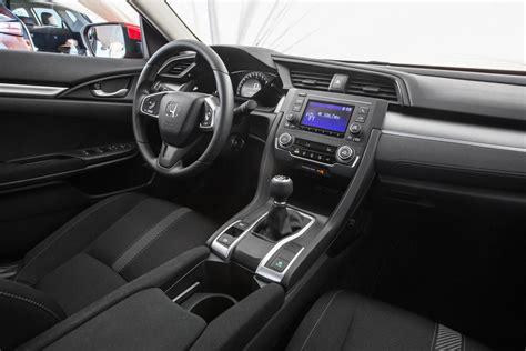 Honda Civic Lx Interior Novo Honda Civic 2017 Pre 231 O Novidades Interior
