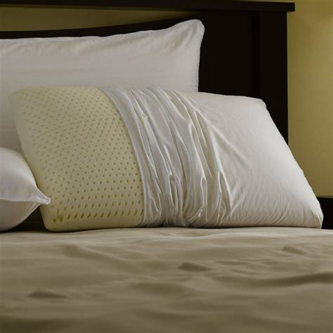 Size Pillows by Talalay Foam Pillows Size Pillow With Zippered