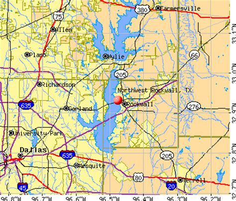 map of rockwall texas northwest rockwall texas tx 75087 profile population maps real estate averages homes