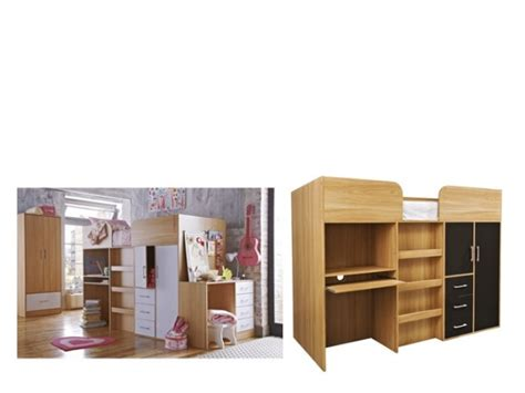 Mid Sleeper With Wardrobe And Drawers by Pin By Dalarna On Home Decor