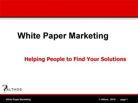how to write a white paper for marketing white paper marketing white paper marketing