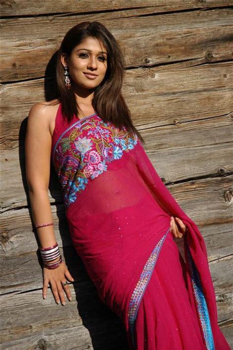 nayanthara hot saree navel nayanthara sexy navel show in saree actress photos