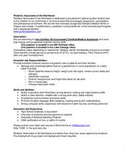 Description For A Pediatric by Sle Assistant Dutie 7 Documents In Word Pdf