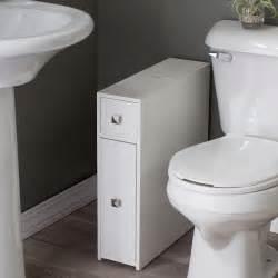 Stock Cabinet Doors Belham Living Longbourn Narrow Bath Cabinet Space Savers