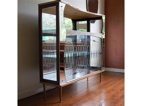 hey homewrecker vintage display cabinet