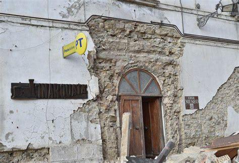 ufficio postale ascoli piceno amatrice e arquata tronto distrutte dal terremoto