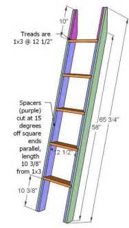 pdf diy wooden bunk bed ladder plans wooden