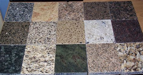 Granite Types For Countertops by Five Inc Countertops 11 Types Of