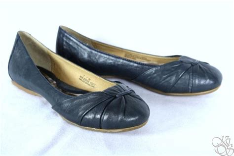 Born Adele Navy | born adele navy ballet flats womens shoes new w38034 ebay