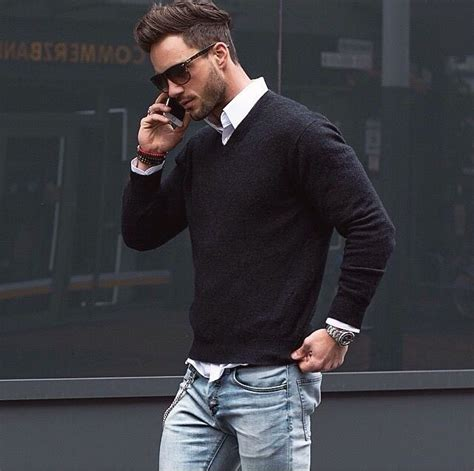 well dress with jacket good hairstyle for a long face gentlemen style