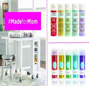Martha Stewart Giveaway - martha stewart madeformom sweepstakes win martha stewart craft products