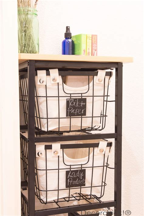 bathroom storage cart new rolling storage cart and bhg products at walmart giveaway decorchick