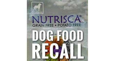 nutrisca food salmonella fears prompt nutrisca food recall