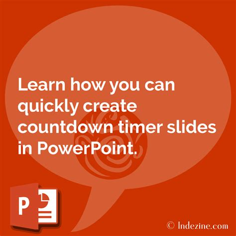countdown timer slides in powerpoint